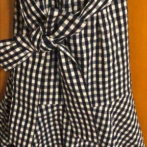 J. Crew Dresses - Jcrew gingham dress size 2